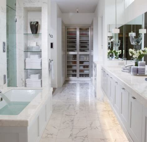 Grey Bathroom Ideas marble in the bathroom
