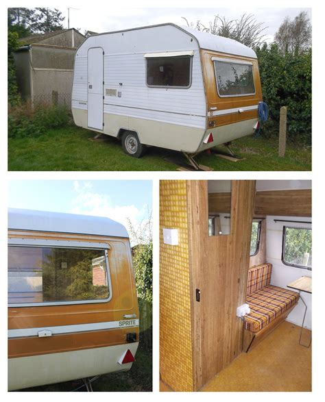 my vintage caravan project a fresh start with a new look cassiefairy my thrifty
