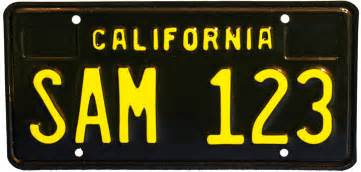 classic california license plates to hit streets this summer