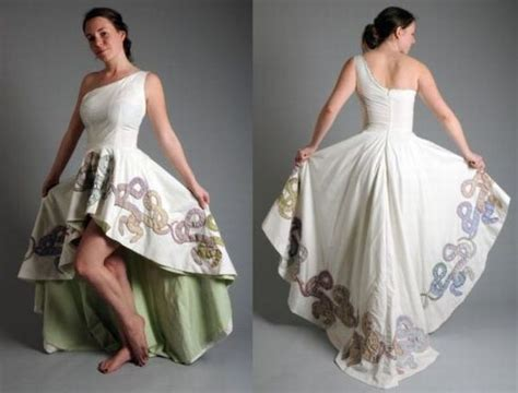design clothes get them made most interesting dresses made from recycled materials
