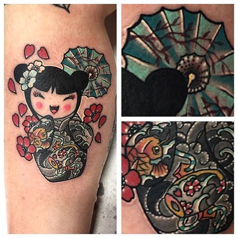 geisha doll tattoo meaning 20 best japanese inspired tattoos images on pinterest