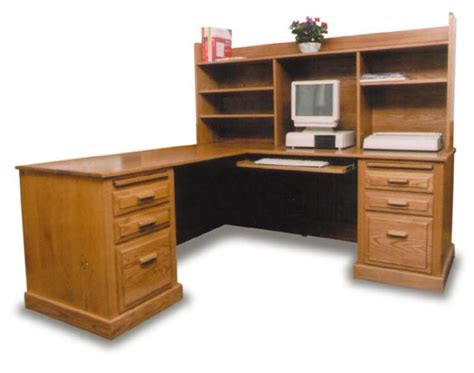 salt oak corner desk oak corner computer desk with hutch