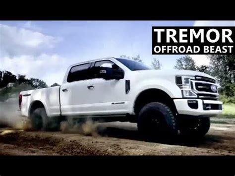 tremor  road package   ford  series super duty youtube