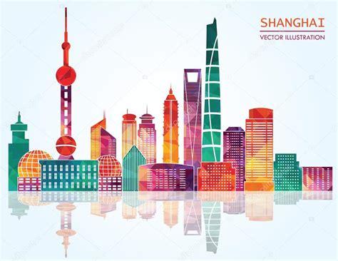 Shanghai Clip shanghai skyline stock vector 169 camillacasablanca 63567477