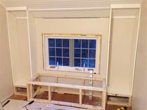 bookcases built in diy how to build a window seat and built in bookcases