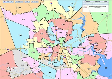 Records Harris County Harris County Voting Precinct Map Slowcatchup