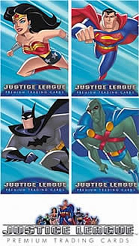 Justice Gift Card Where To Buy - justice league trading cards 5 pack inkworks justice league trading cards at