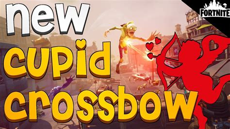 fortnite  cupid crossbow cozy campfire valentines themed heroes   hydra