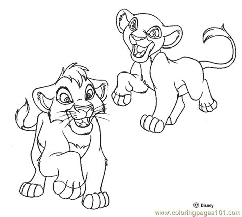 lion king coloring pages online game lion king coloring page 04 coloring page free lion
