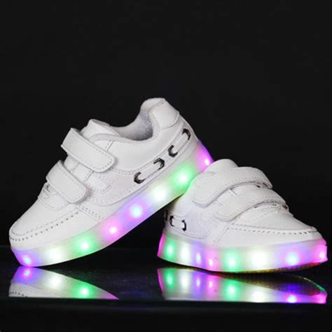 children kid boys girls led light  colorful sports
