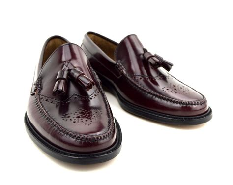 brogues loafers tassel loafer brogues in oxblood the lord brogue mod shoes