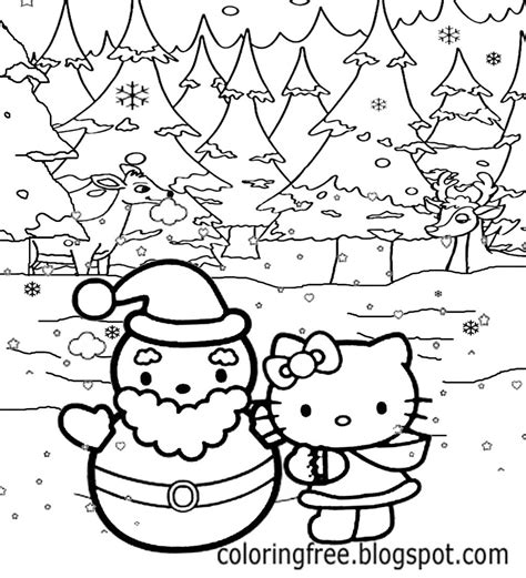 hello kitty fall coloring page free coloring pages printable pictures to color kids