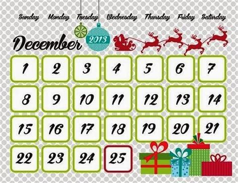 printable xmas calendar 2015 christmas 2015 countdown hd calendar for kids printable