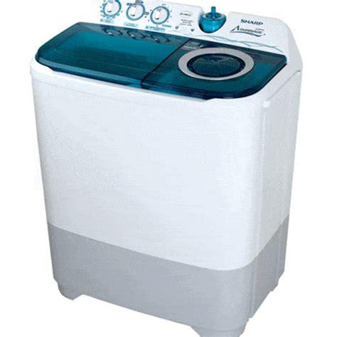 Mesin Cuci 1 Tabung Sharp 2015 sharp mesin cuci 2 tabung es t86ca bk arjuna elektronik