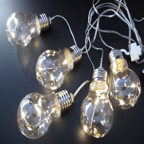 Led Lichterkette Deko by Led Batterie Gl 252 Hlen Lichterkette 5 Deko Gl 252 Hbirnen 5x9