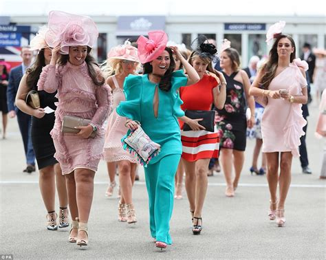day photos ascot racegoers are back to their glamorous best daily