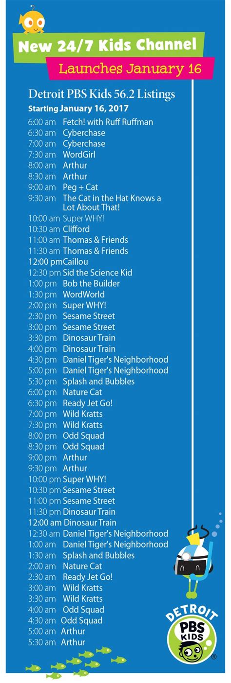 bright house tv schedule detroit pbs kids new 24 7 channel launches in january