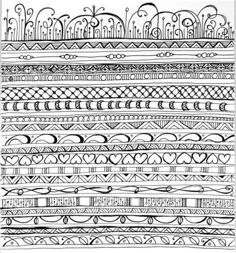 doodle pattern borders zen doodles pattern zenspirations gallery playful
