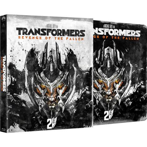 Transformers The Uk Exclusive Steelbook transformers 2 of the fallen zavvi exclusive limited edition steelbook with slipcase