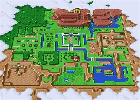 legend of zelda map nintendo miyamoto experimenting with 2d zelda may be bringing it