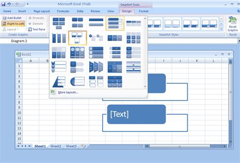 excel layout design change a smartart graphic layout smartart 171 wordart clip