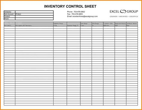inventory tracking template inventory tracking templates inventory spreadsheet