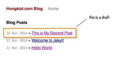 jekyll generate layout how to create post draft in jekyll ipixel creative