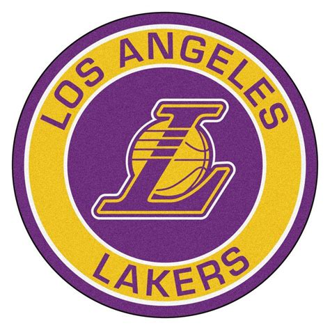 lakers rug fanmats nba los angeles lakers gold 2 ft 3 in x 2 ft 3 in accent rug 18839 the home