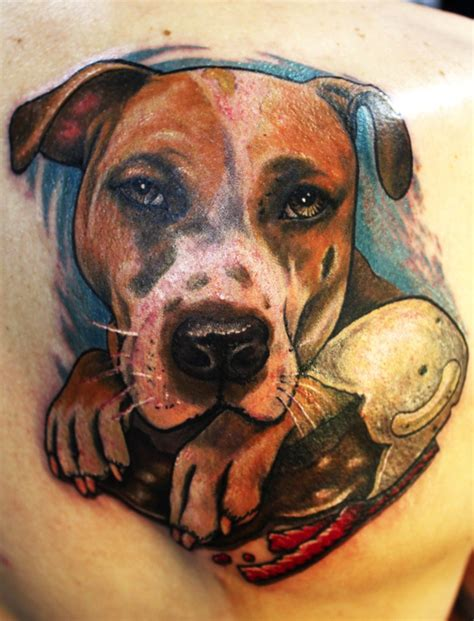 pitbull tattoo ideas