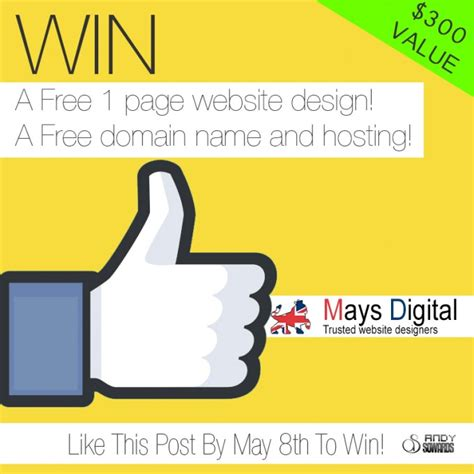 Free Website Giveaway - business kickstart giveaway free web design domain and