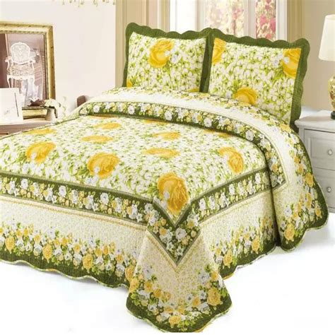 Yellow Bedspreads Popular Yellow Floral Bedspread Buy Cheap Yellow Floral