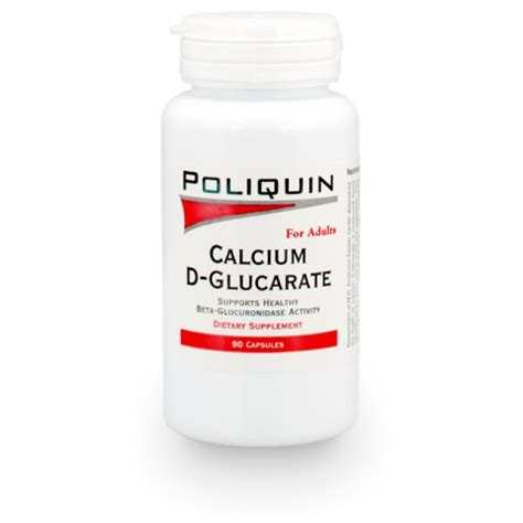 Calcium D Glucarate Detox Mercury by Calcium D Glucarate Poliquin Store