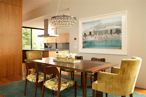 retro dining room modern house exudes a casual sophistication idesignarch interior design architecture