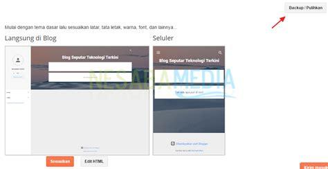 cara membuat blog gratis untuk pemula panduan cara membuat blog gratis untuk pemula lengkap gambar