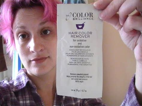 ion color remover ion color remover demo and review