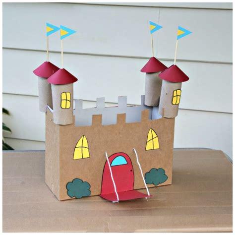 como hacer carabelas de cartn como hacer un castillo de carton medieval manualidades