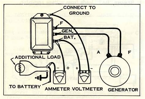 generator voltage regulator wiring diagram harley wiring