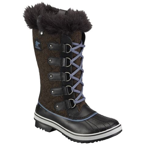 sorel womens tofino herringbone boot