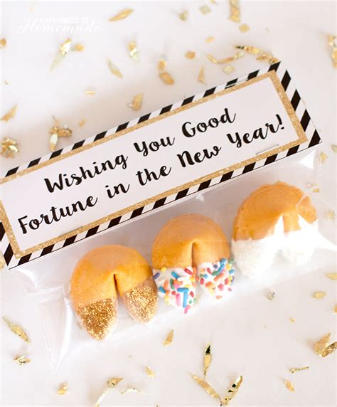 new year fortune cookies new year s ideas squared