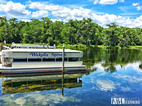boarding tallahassee boat ride at wakulla springs state park family visit to tallahassee florida abc