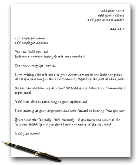 free cv cover letter template uk letter template uk formal letter template