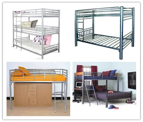 4 Person Bunk Bed Cheap Modern Furniture 4 Person Metal Bed Bunk Bed Black Buy Bunk