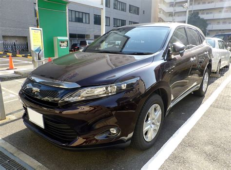 harrier lexus model toyota harrier
