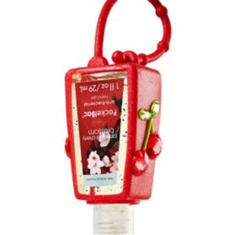 cherries rhinestone pocketbac holder from bath works