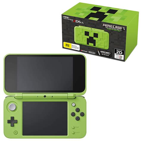 nintendo ds 2 console new nintendo 2ds xl minecraft creeper edition console