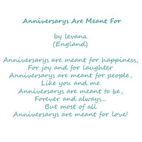 65th Wedding Anniversary Card Verses by Anniversary Poetry