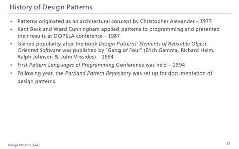 design patterns exles in net