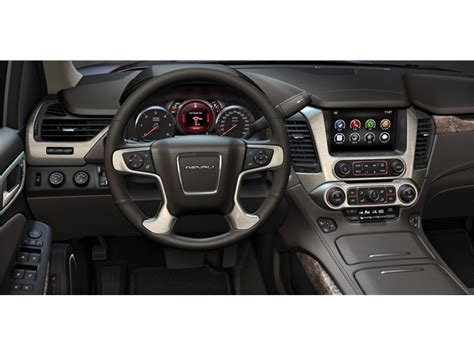gmc yukon interior 2016 2016 gmc yukon prices reviews and pictures u s