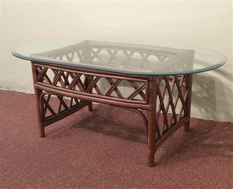 Rattan Oval Coffee Table