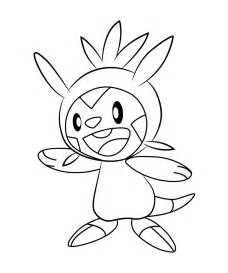 free coloring pages of chespin
